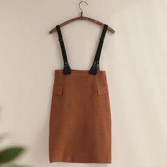 11.STREET - 多带针织裙