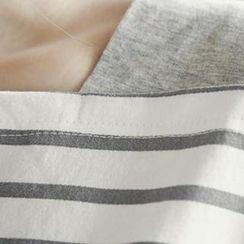 NANING9 - Stripe Cotton Top