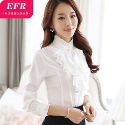 Eferu - 荷叶边衬衫