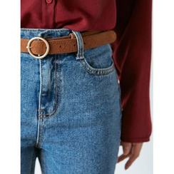 FROMBEGINNING - Faux-Suede Belt