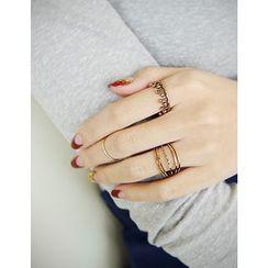 soo n soo - Set of 3: Rings
