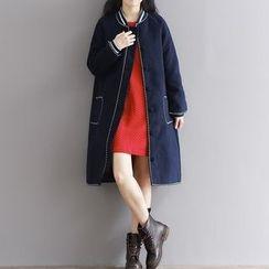 Epoch - 羊毛長款外套
