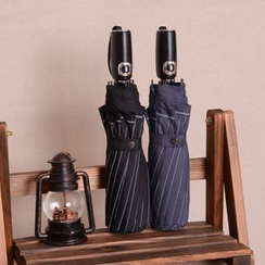 Easily - Stripe Automatic Compact Umbrella