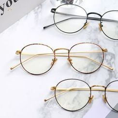 Lose Show - Metal Frame Round Glasses