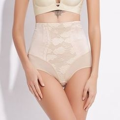 Fair Lady - Lace High Waist Shaping Panties