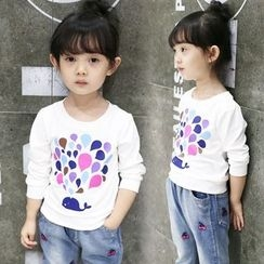Merry Go Round - Kids Print Pullover