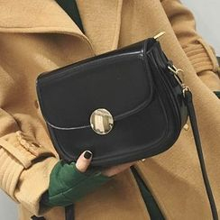 Albatross - Faux Leather Shoulder Bag