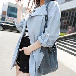 OTTI - Tab-Sleeve Buttoned Jacket