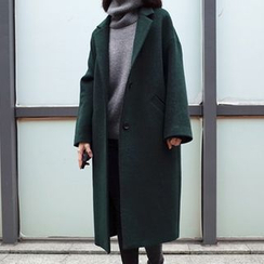 OTTI - Notch Lapel Buttoned Coat