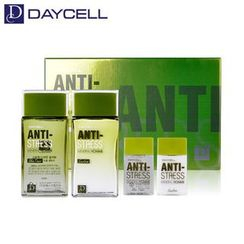 DAYCELL - Anti-Stress Mineral Homme Skin Care Set: Skin 140ml + 35ml + Emulsion 140ml + 35ml