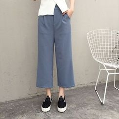 Mayflower - Cropped Wide Leg Pants