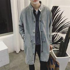 子俊 - 燈芯絨長款夾克
