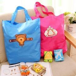 Fancy Mansion - Foldable Nylon Shopper Bag