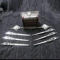 Paparazzi - Metal Hair Pin Set