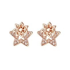 Italina - Two-Way Flower Earrings
