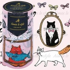 Aimez le style - Aimez le style Masking Tape Grand Cat world