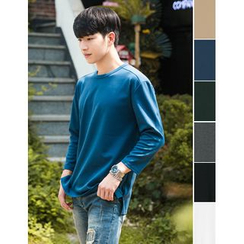 STYLEMAN - Round-Neck Colored T-Shirt