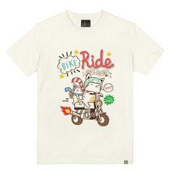 the shirts - Rider Cat Print T-Shirt