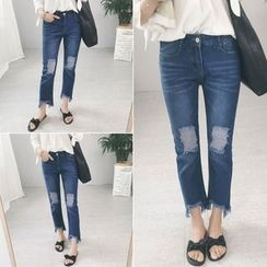RASA - Cropped Straight Fit Jeans