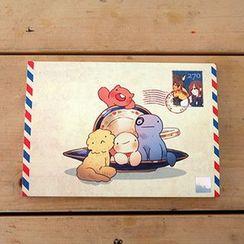 BABOSARANG - Imp of Socks Character Series Post Card (25pcs) (S)