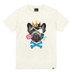 the shirts - King Dog Print T-Shirt