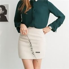 PEPER - Zip-Side Mini Skirt