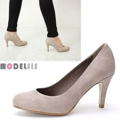 MODELSIS - Faux-Leather Pumps