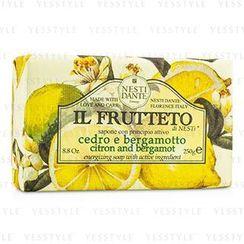 Nesti Dante - Il Frutteto Energizing Soap - Citron and Bergamot