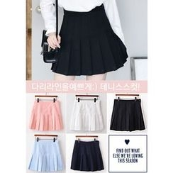 DEEPNY - Pleated Mini Skirt