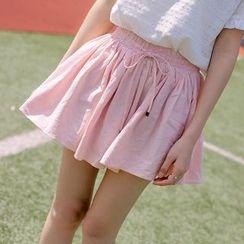 微米家 - 纯色宽身短裤