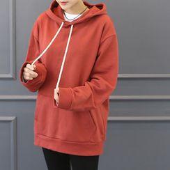 DANI LOVE - Hooded Kangaroo-Pocket Pullover