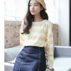 Everies - Long-Sleeve Striped T-Shirt