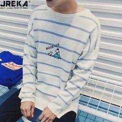 Jacka - Striped Sweatshirt