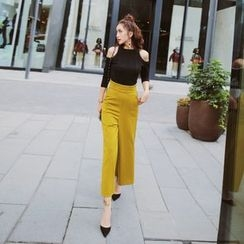 Tang House - Wide Leg Pants