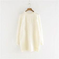 Storyland - Jacquard Sweater Dress