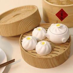 Cloud Forest - Dim Sum Teapot Tea Cup Set