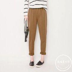 PANDAGO - Seam Front Harem Pants