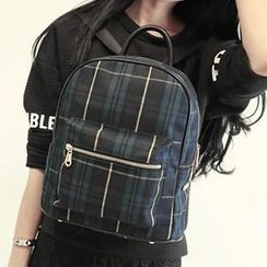 More Bag - Plaid Backpack