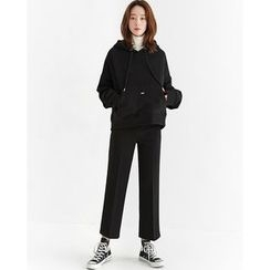 Someday, if - Hooded Kangaroo-Pocket Cotton Pullover