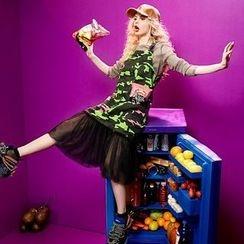 ELF SACK - Camouflage Jumper Dress