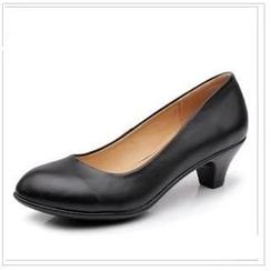 Hannah - 真皮中跟鞋