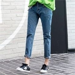 PIPPIN - Washed Baggy-Fit Jeans