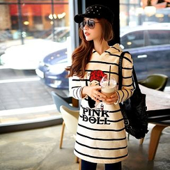 Dabuwawa - Hooded Striped Pullover