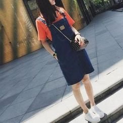 Fashion Street - Denim Pinafore