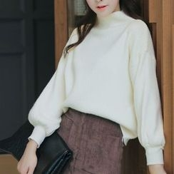 Romantica - Turtleneck Loose-Fit Sweater