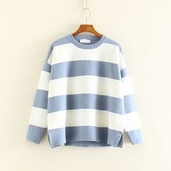 Mushi - Striped Sweater