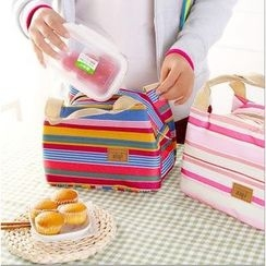 Lover's Kiss - Stripe Lunch Bag