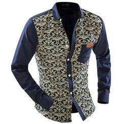 Hansel - 花紋襯衫