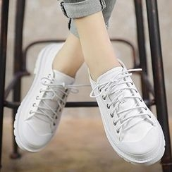 QQ Trend - Lace Up Sneakers