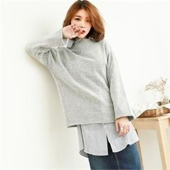 GLAM12 - Colored Wool Sweater